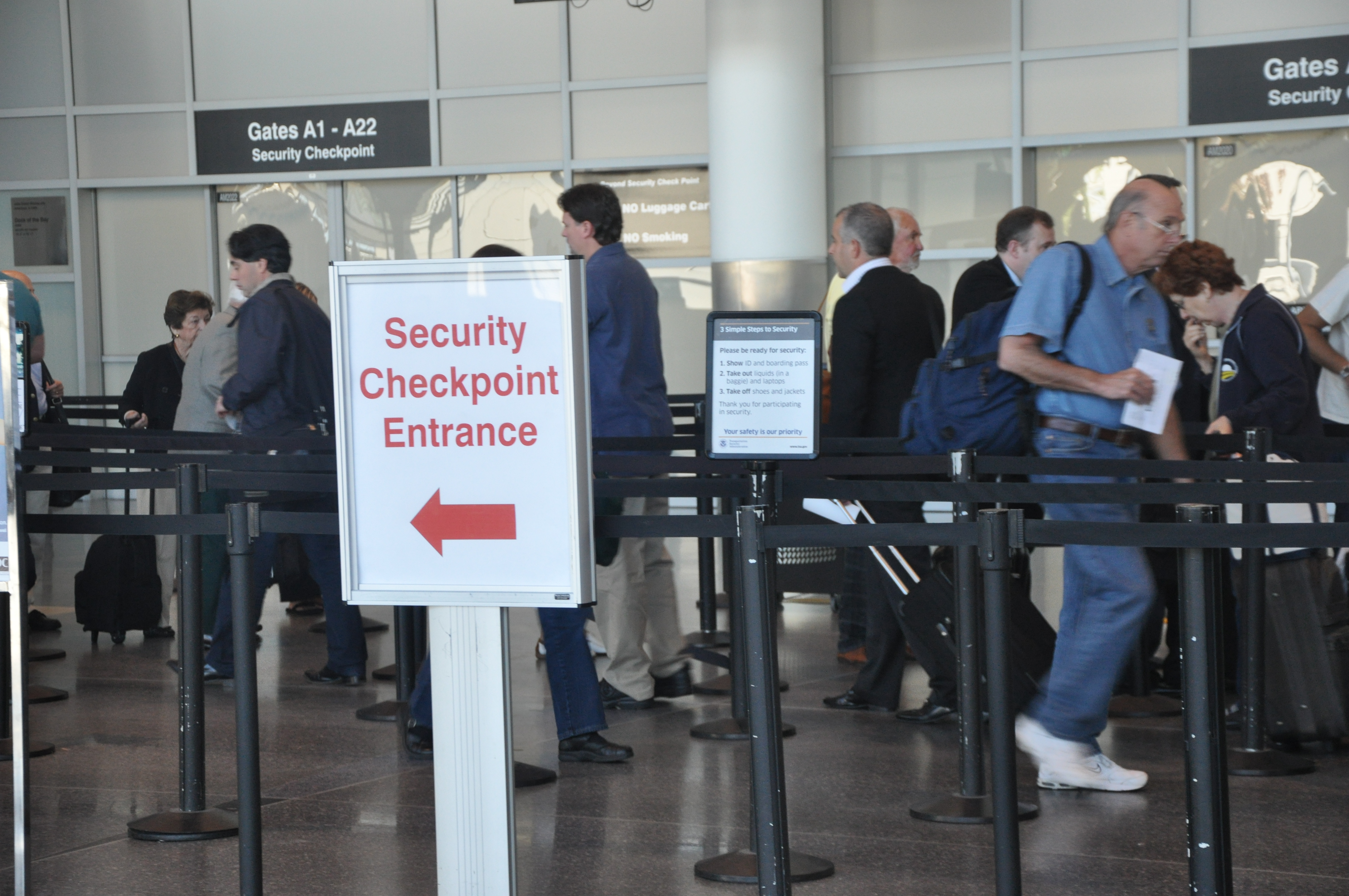 airport security Airports have hundreds of thousands, if not millions, of guests streaming through every single year though it may not come as a total surprise, new research shows that those airport security .